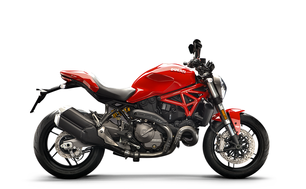 Monster 821 Red