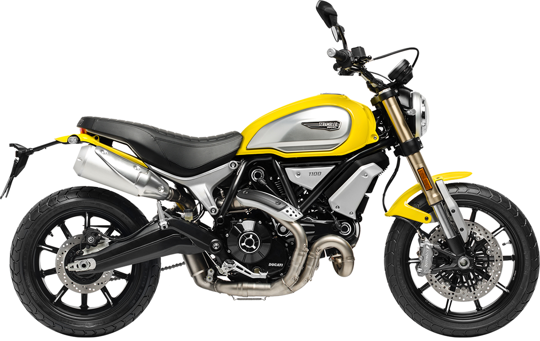 Scrambler 1100 Yellow