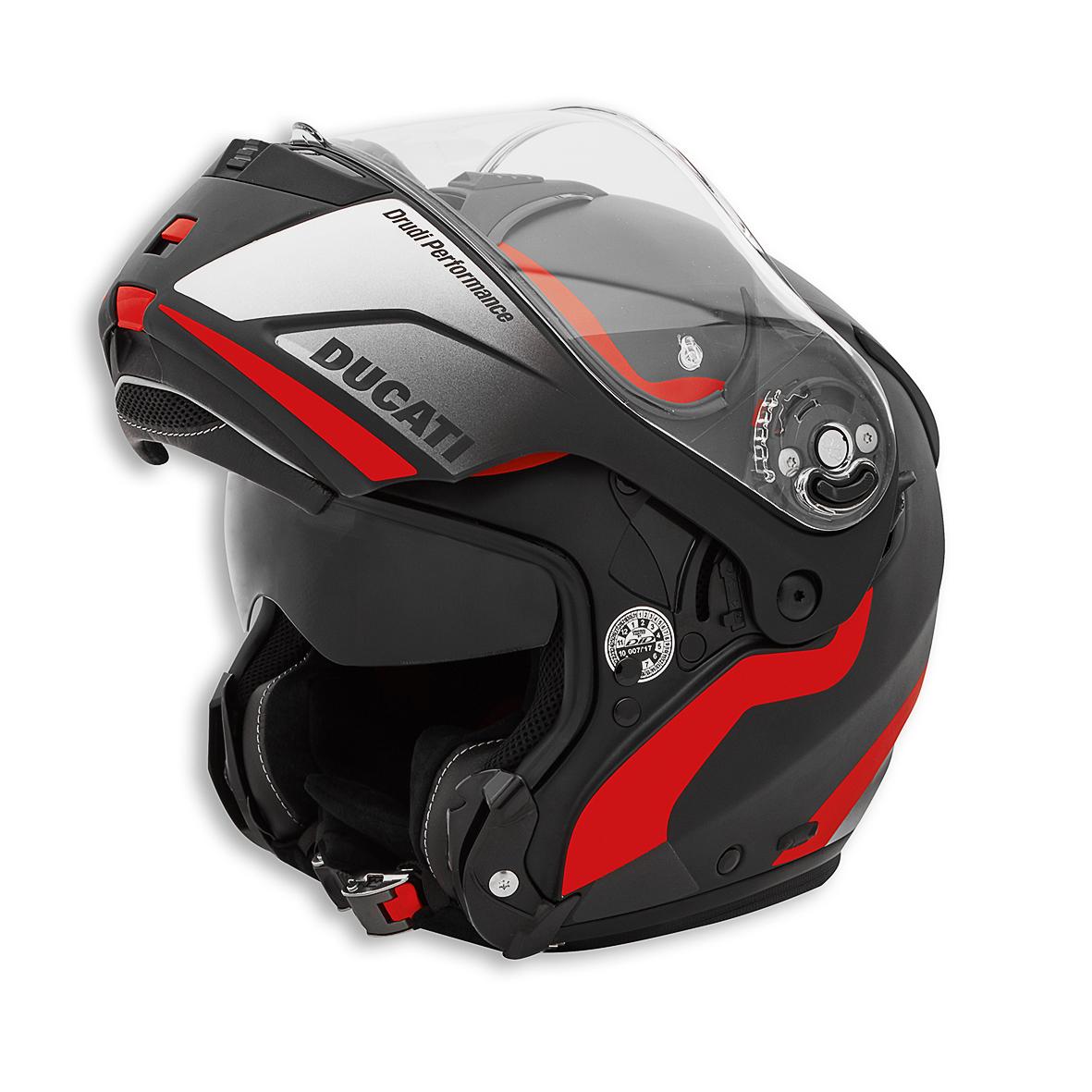 Casco Jet Ducati Monster